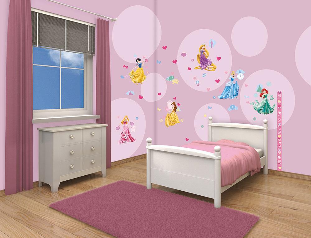 81 gro e wandsticker kinderzimmer disney princess. Black Bedroom Furniture Sets. Home Design Ideas