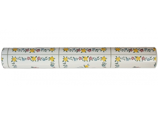 Tapete Selbstklebend K Chentapete Fliesen Blumenmuster Fliesenspiegel Abwischbar Ebay