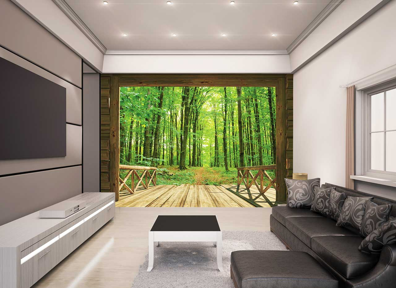 walltastic fototapete b ume wald spaziergang www 4. Black Bedroom Furniture Sets. Home Design Ideas
