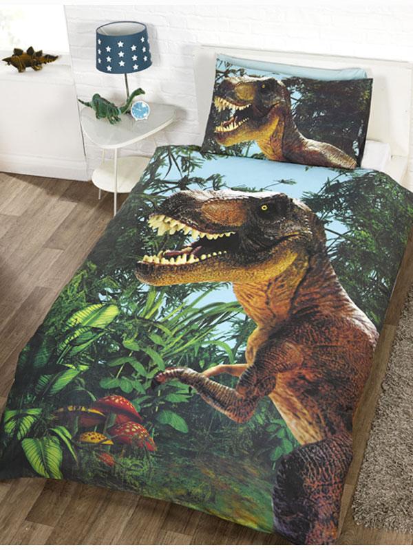 bettw sche t rex dinosaurier bettw sche. Black Bedroom Furniture Sets. Home Design Ideas
