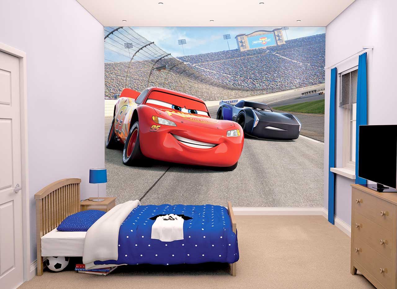 Walltastic Fototapete Disney Pixar Cars 3 | www.4-haen.de