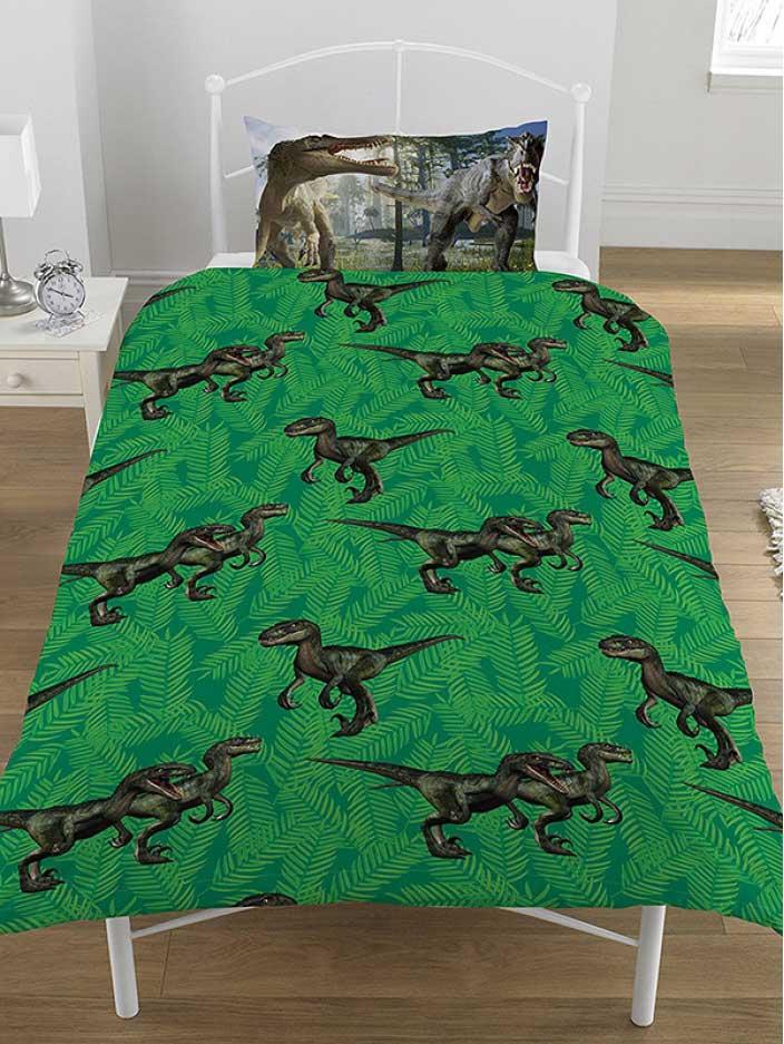 bettw sche dinosaurier jurassic world bettw sche. Black Bedroom Furniture Sets. Home Design Ideas