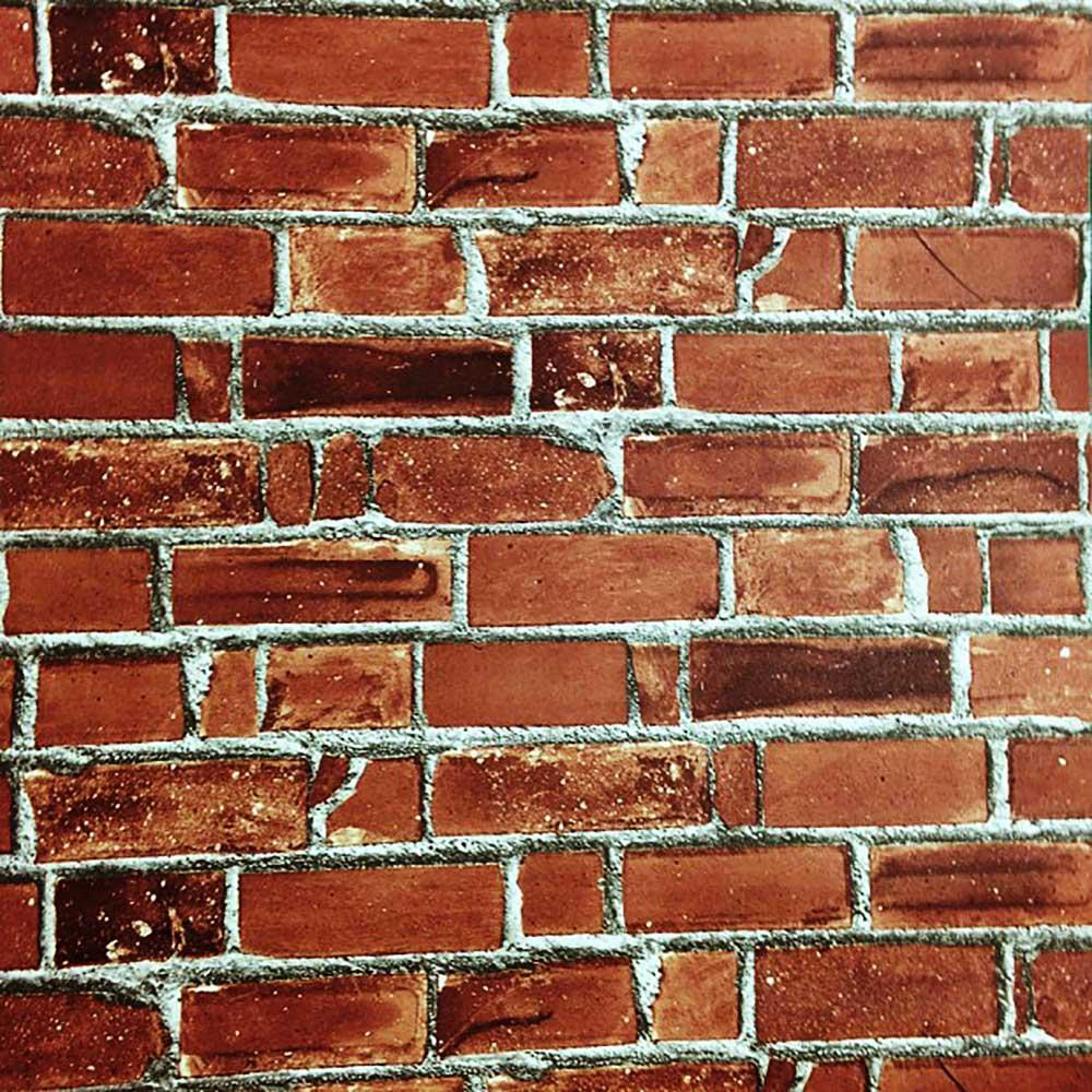 Tapete Selbstklebend Rote Backsteinmauer Steintapete