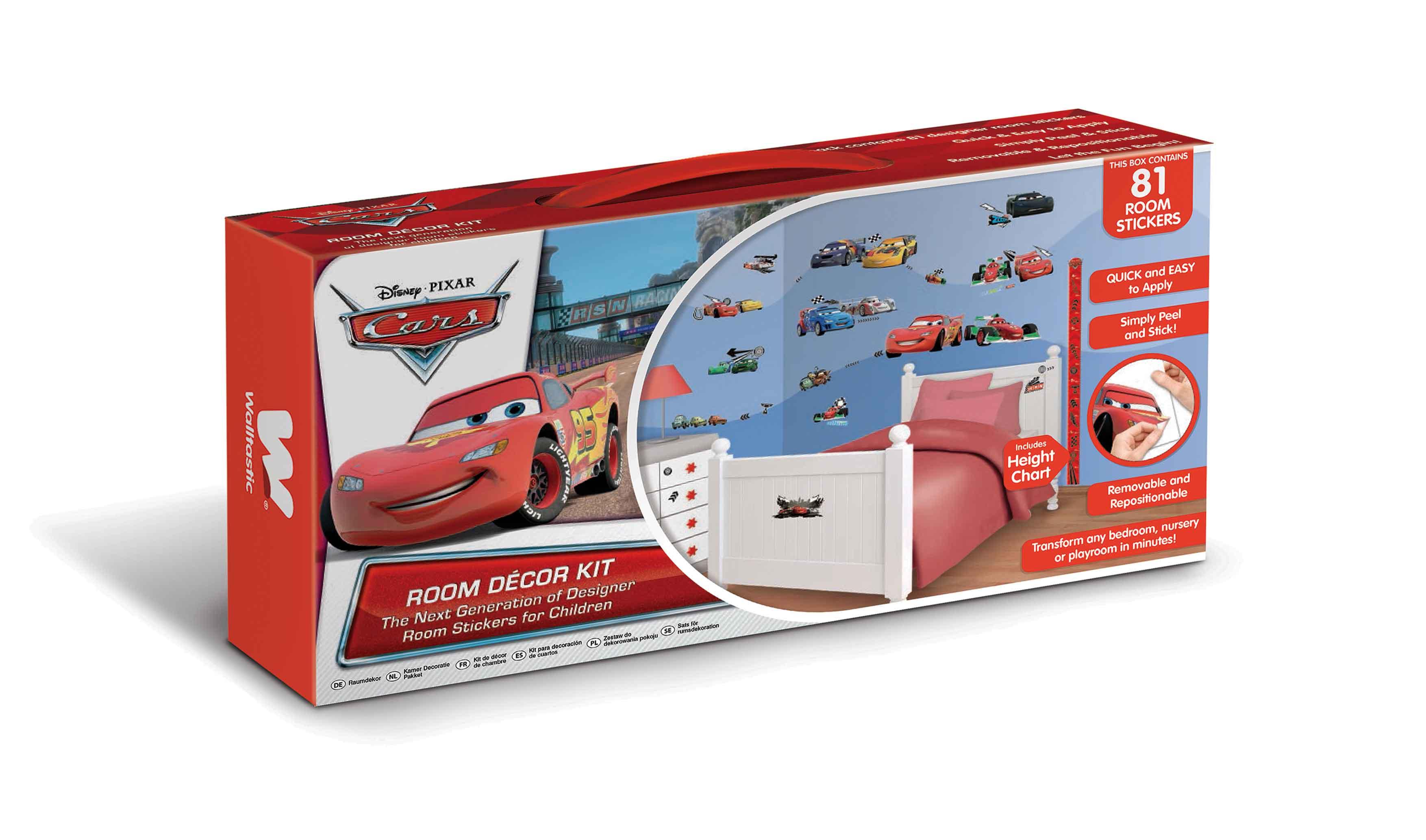 Wandgestaltung Kinderzimmer Cars speyeder = Verschiedene