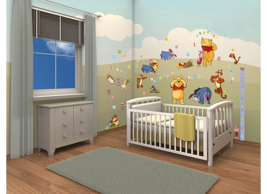 Walltastic Wandsticker Kinderzimmer Disney Winnie the Pooh | Rakuten