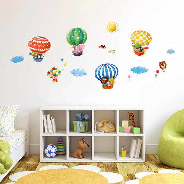 wandsticker reise der tiere wandsticker kinderzimmer. Black Bedroom Furniture Sets. Home Design Ideas