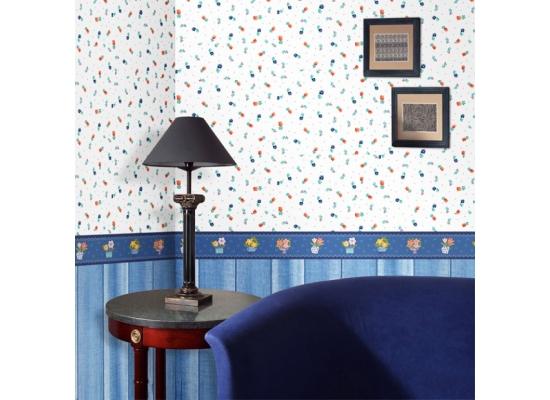 hyundae sheets selbstklebende bord re blaue blument pfe www 4. Black Bedroom Furniture Sets. Home Design Ideas