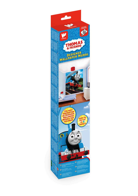 Fototapete Kinderzimmer Lokomotive Thomas-Walltastic ...