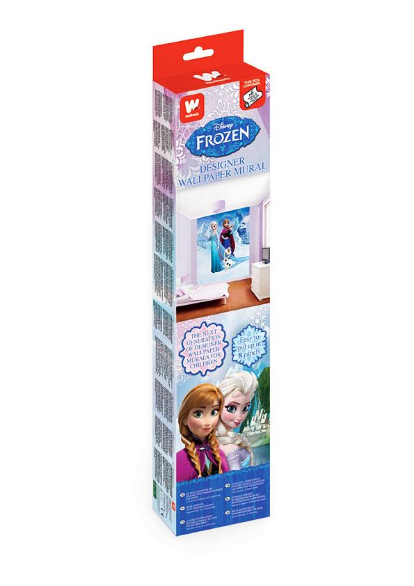 Fototapete kinderzimmer disney frozen eisk nigin tapetenleim ebay - Kinderzimmer eiskonigin ...