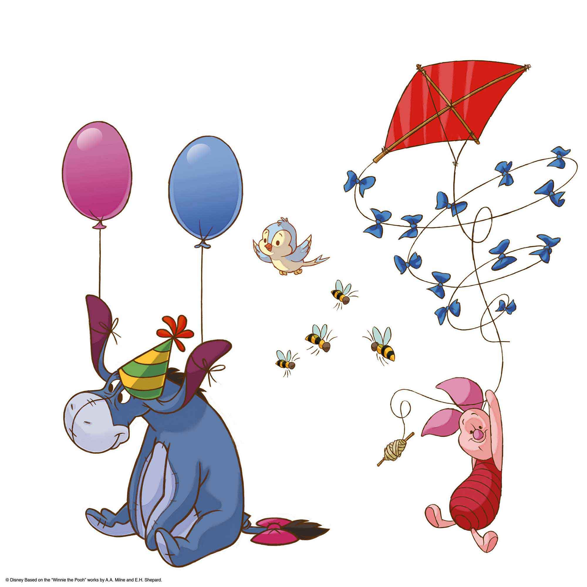 Fensterbild winnie pooh fensterbilder - Babyzimmer winnie pooh ...