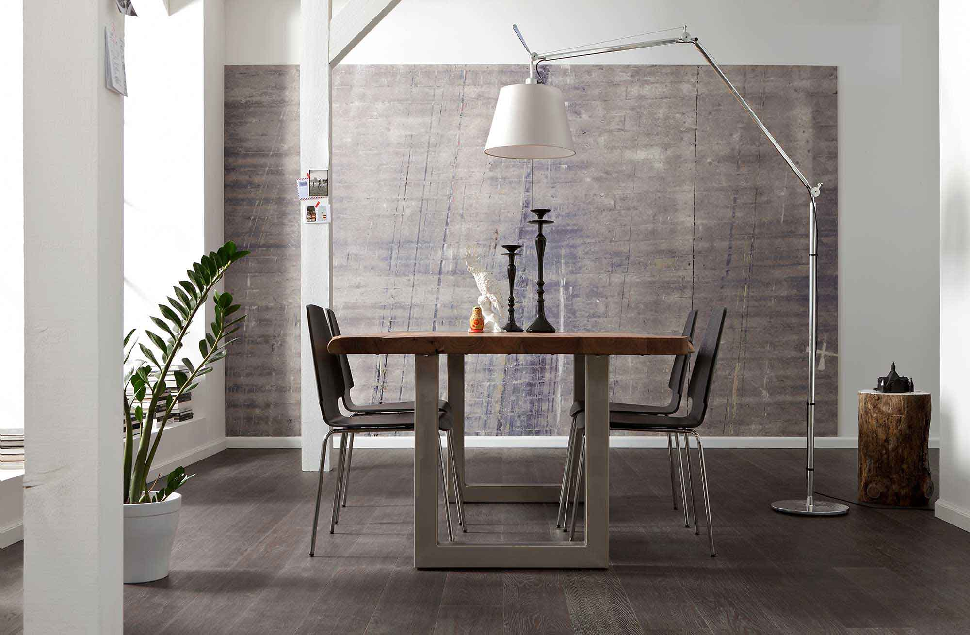 vlies fototapete beton optik vlies fototapeten. Black Bedroom Furniture Sets. Home Design Ideas