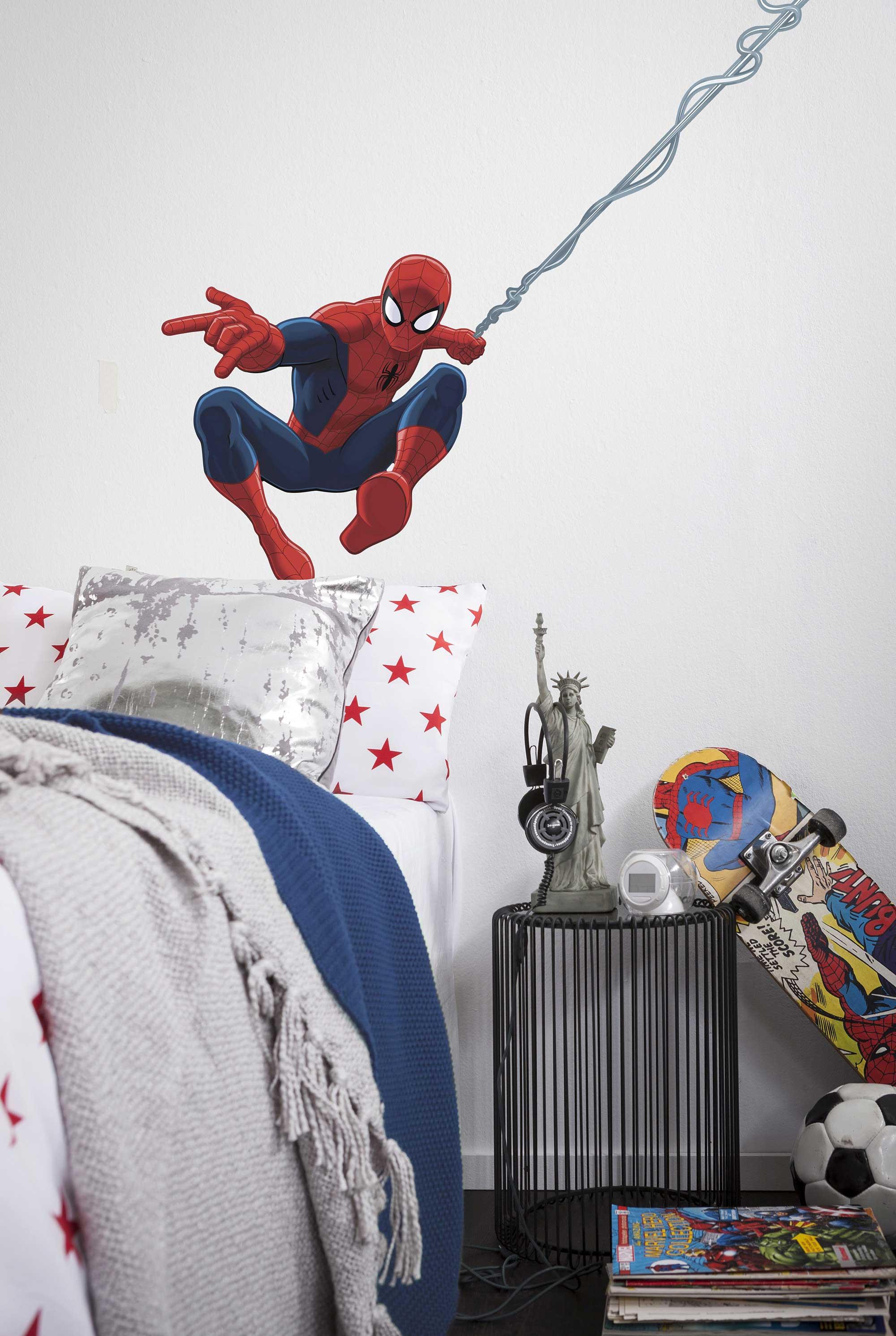 Spiderman Kinderzimmer | Wandtattoo Spiderman Spiderman