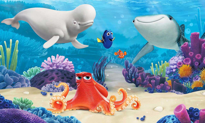 RoomMates Fototapete Finding Dory Wandbild Disney Pixar Nemo | www ...