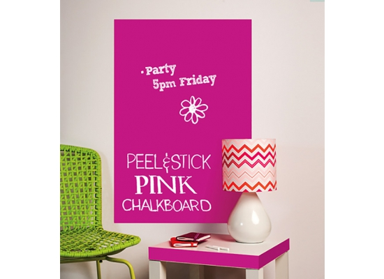 kreidetafel tafelfolie gro pink kreidetafeln. Black Bedroom Furniture Sets. Home Design Ideas