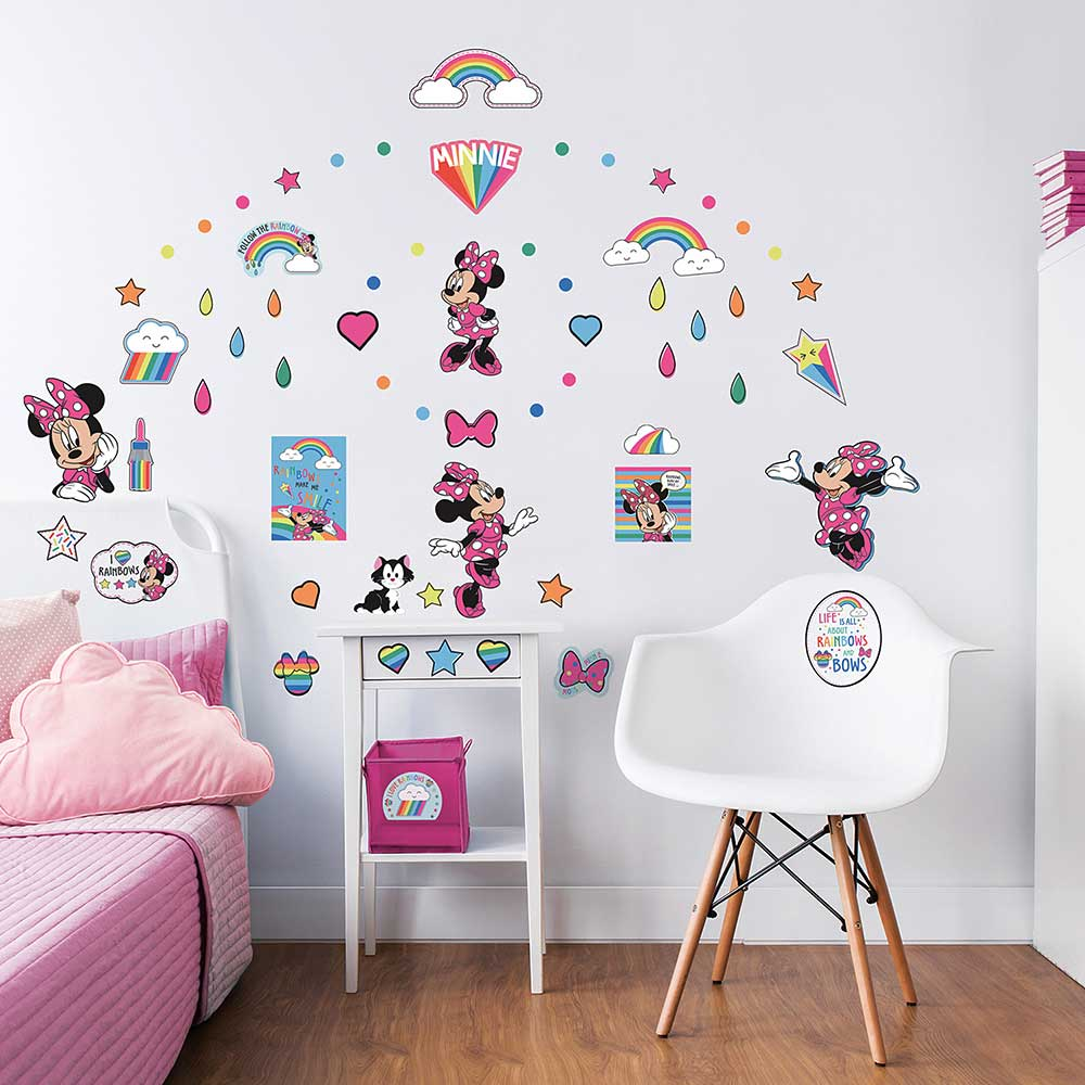 Wandsticker Disney Minnie Mouse-Walltastic Wandsticker