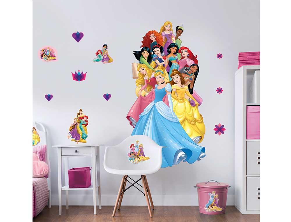 Wandsticker Disney Princess XXL Dekopaket-Walltastic Wandsticker