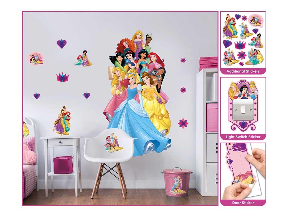 Wandsticker Disney Princess Verarbeitung