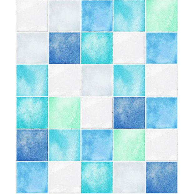 hyundae sheet tapete selbstklebend fliesenspiegel blau www 4. Black Bedroom Furniture Sets. Home Design Ideas
