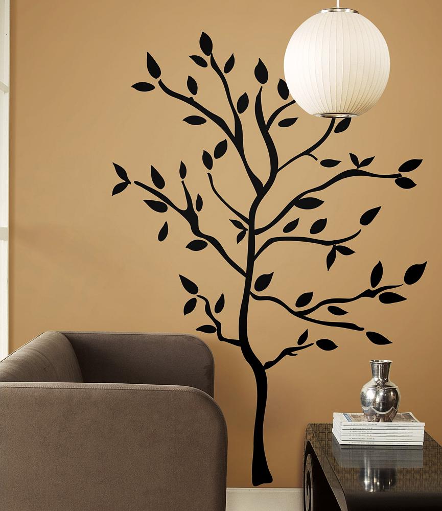 Blickfang Wandsticker Baum Ideen Von Roommates Baumzweige Wohnzimmer