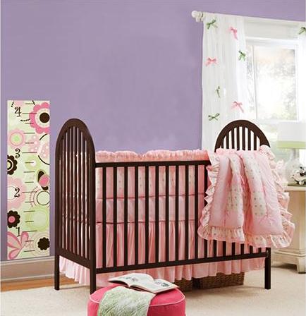 messlatte wandsticker schmetterlingsgarten wandsticker kinderzimmer. Black Bedroom Furniture Sets. Home Design Ideas