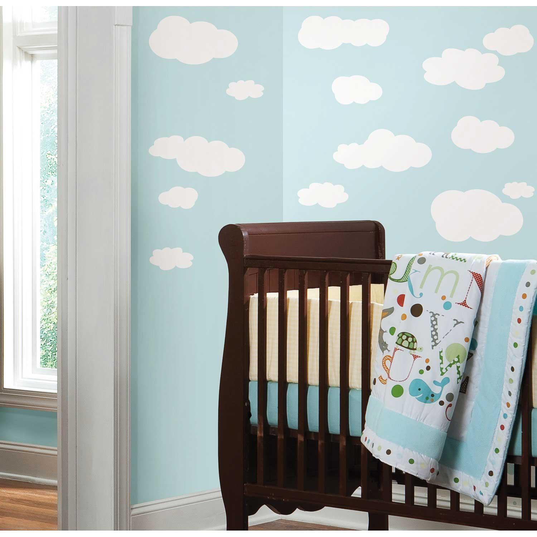 roommates wandtattoo wei e wolken am himmel www 4. Black Bedroom Furniture Sets. Home Design Ideas