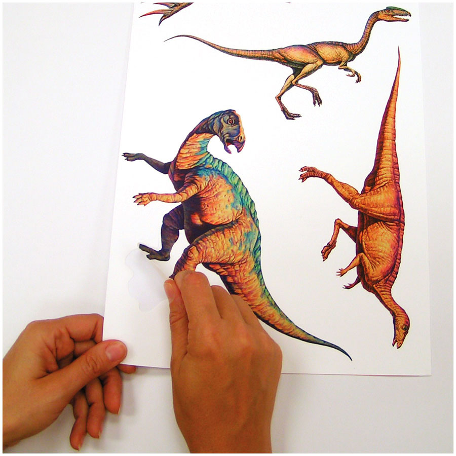 Roommates wandsticker wandtattoo dinosaurier kinderzimmer - Wandtattoos dinosaurier ...