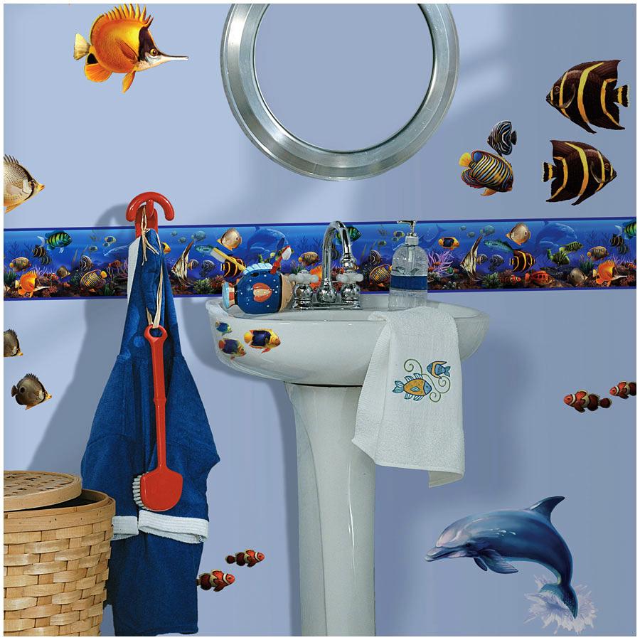 Roommates Bordre Fische Delfine Badezimmer With Bordre Badezimmer