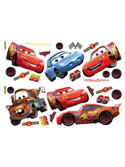wandsticker disney pixar cars kinderzimmer www 4. Black Bedroom Furniture Sets. Home Design Ideas