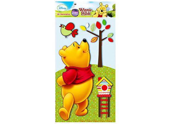 character world wandsticker babyzimmer 3d xl winnie the pooh www 4. Black Bedroom Furniture Sets. Home Design Ideas