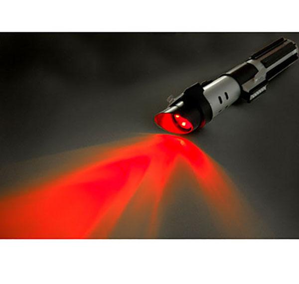 star wars laserschwert darth vader taschenlampe mit sound ebay. Black Bedroom Furniture Sets. Home Design Ideas