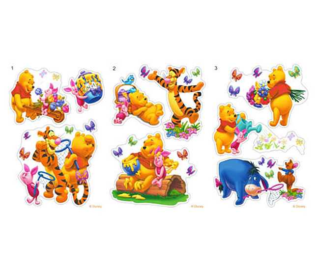 wandtattoo kinderzimmer winnie pooh winnie the pooh. Black Bedroom Furniture Sets. Home Design Ideas