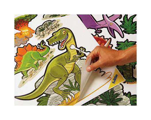 Dinosaurier insel funtosee riesen wandsticker - Funtosee wandsticker ...